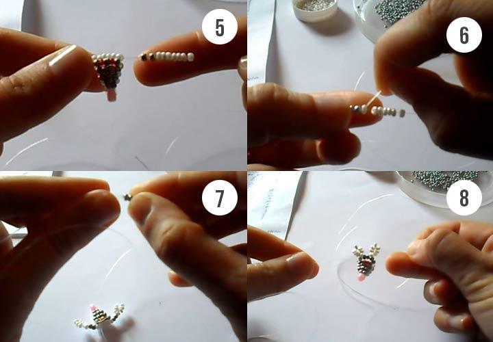 Как сделать мышку из бисера