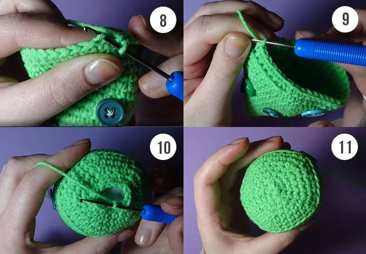 Как связать елочку пошаговая инструкция с фото и пояснениями
