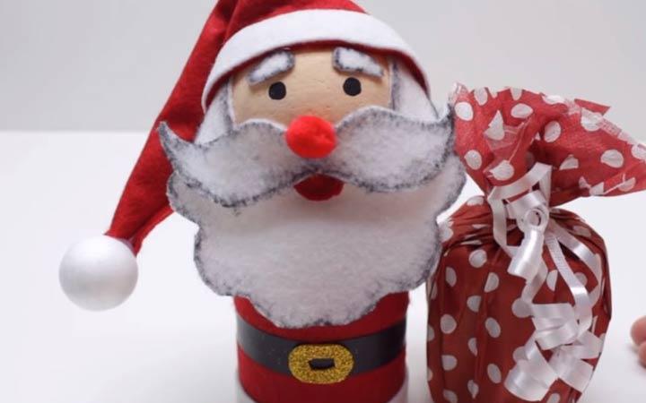 Дед Мороз на Новый 2020 год своими руками