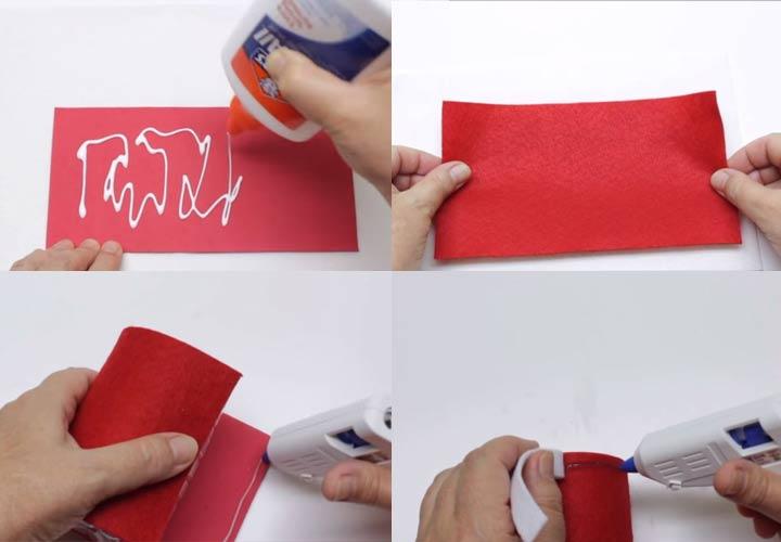 Как сделать Деда Мороза из бутылки пошаговая инструкция с фото