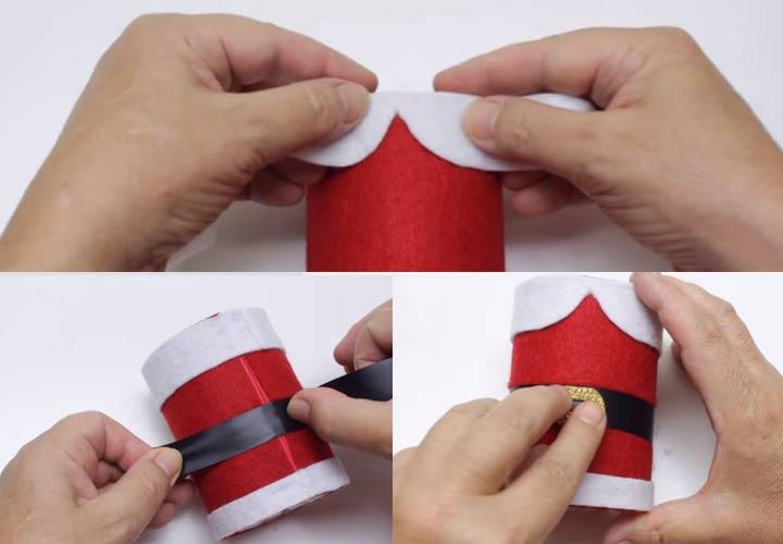 Как сделать Деда Мороза из бутылки пошаговая инструкция с фото и пояснениями