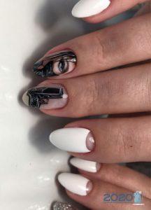 Тематический дизайн ногтей на 2020 год