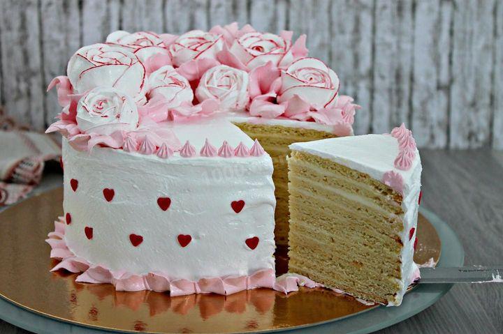 Торт с маскарпоне