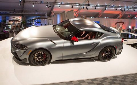 Первая Toyota Supra 2020 года продана за 2 миллиона долларов