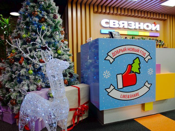 Как украсить офис к Новому году