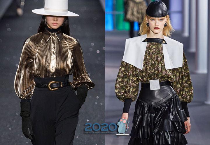 Блузы 2020 года