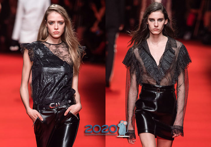 Модные модели блузок на 2020 год