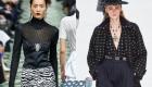 Прозрачные блузы с декольте 2020 года