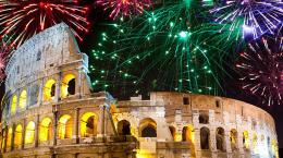 Новый 2020 год в Риме