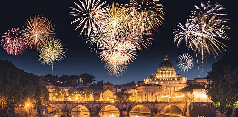 Рим на Новый год