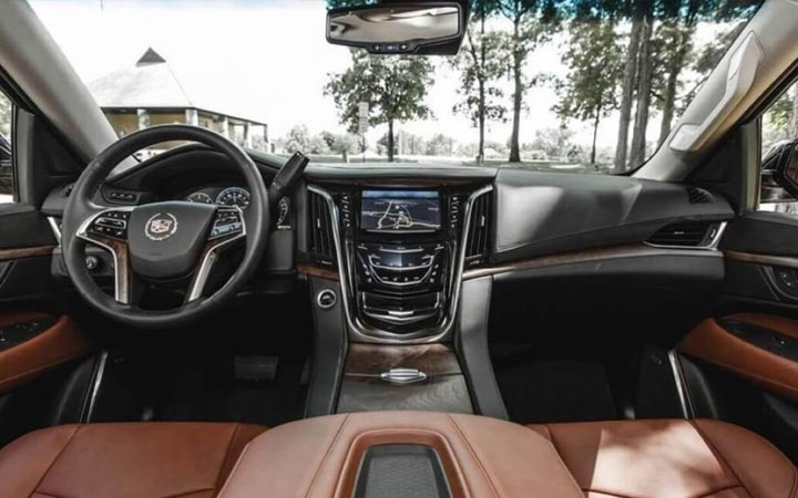 Интерьер Cadillac Escalade 2020
