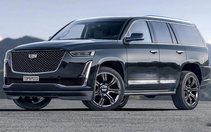 Экстерьер Cadillac Escalade 2020
