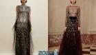 Вечернее платье со стразами на Новый Год 2020