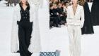 Модные брючные костюмы как альтернатива новогоднему платью в 2020 году