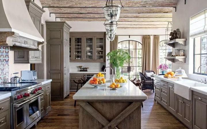 Кухня в фермерском стиле - идеи интерьера на 2020 год