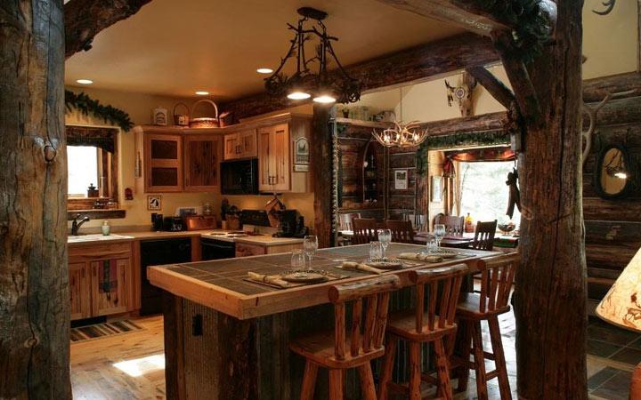 Кухня в рустикальном стиле - идеи интерьера на 2020 год