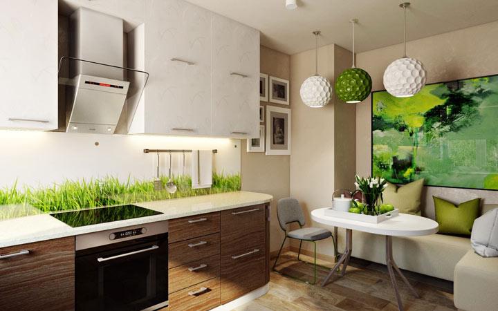 Кухня в эко стиле - идеи интерьера на 2020 год