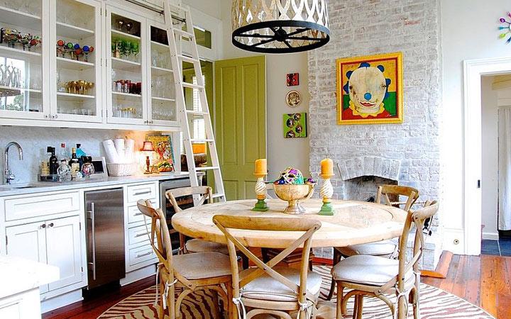 Кухня в стиле эклектика мода 2019-2020