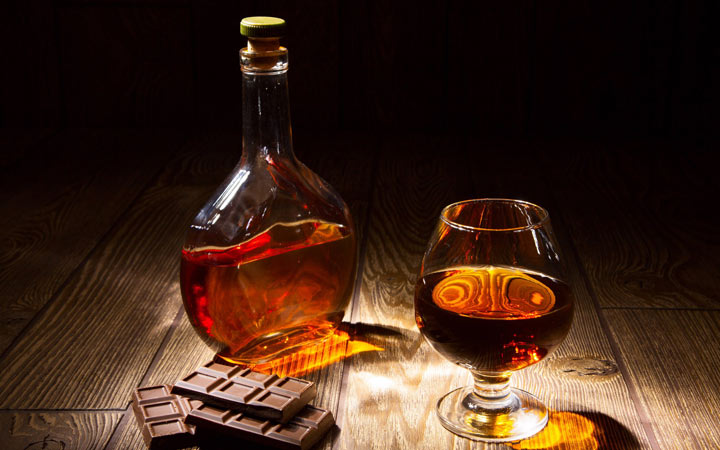 Коньяк и другие напитки на Новый Год 2020