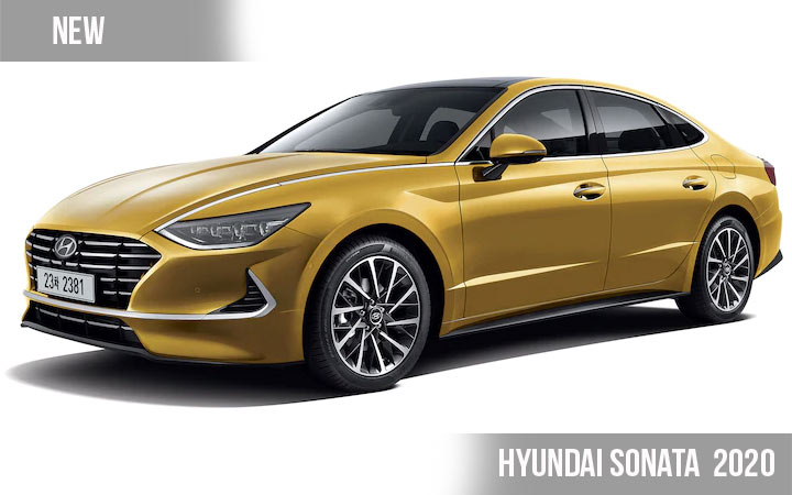 Новый Hyundai Sonata 2020 года