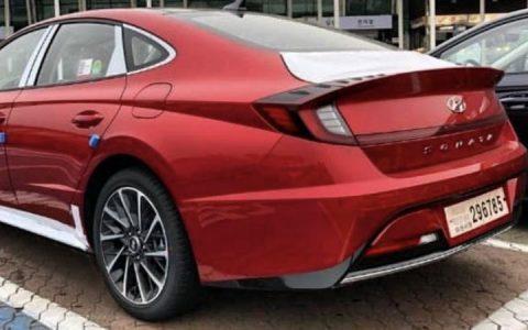 Живые фото Hyundai Sonata 2020 года