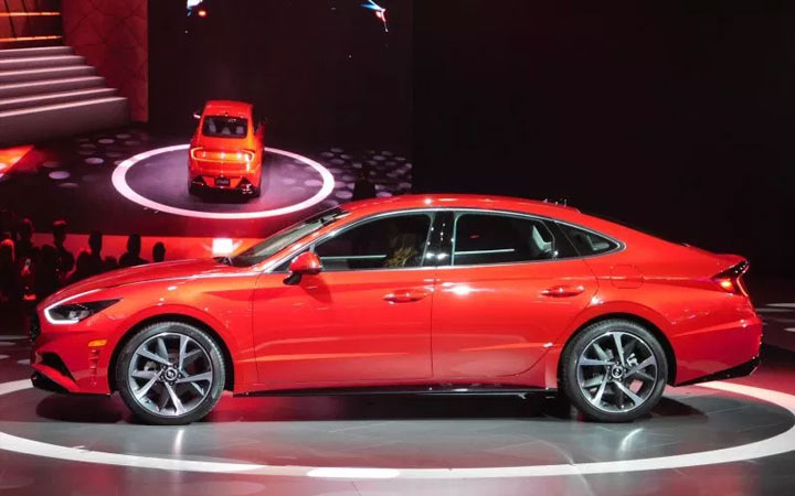 Габариты Hyundai Sonata 2020