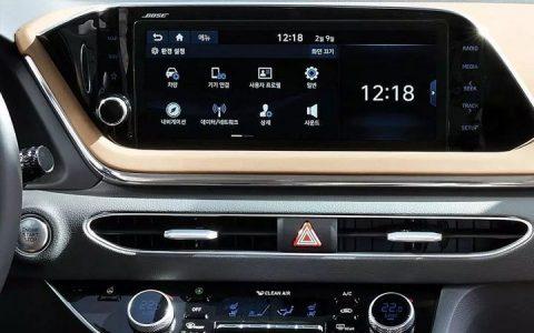 Монитор Hyundai Sonata 2020