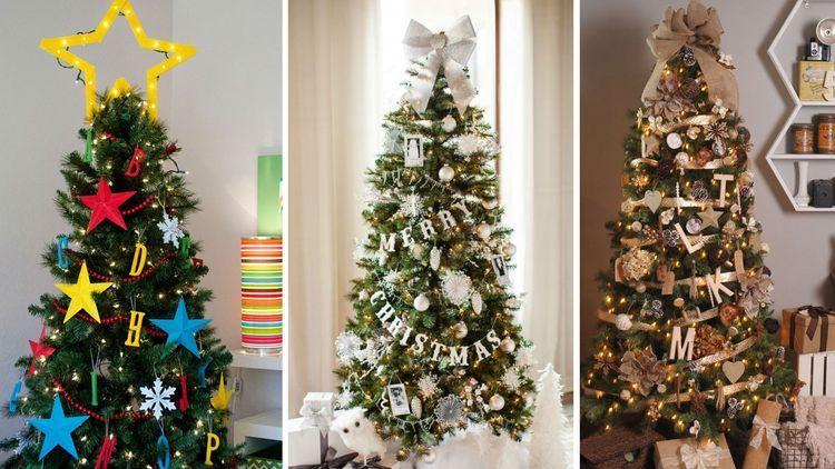 Новогодняя елка в американском стиле