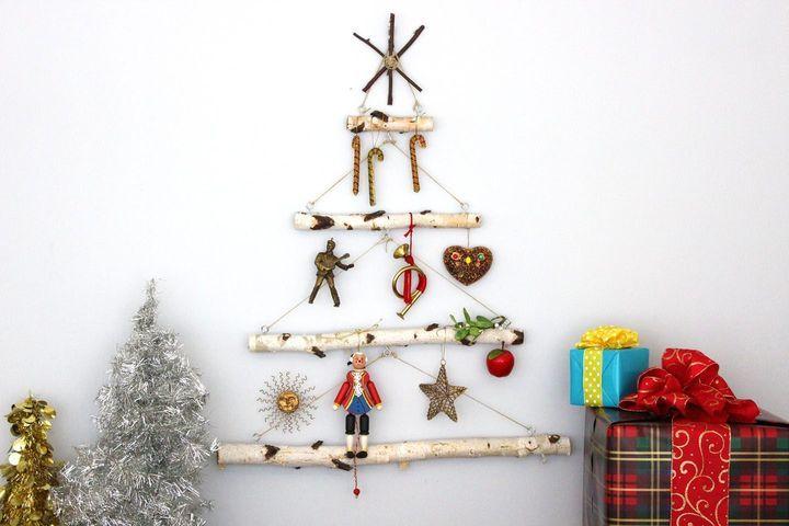 Эко-елка на Новый год