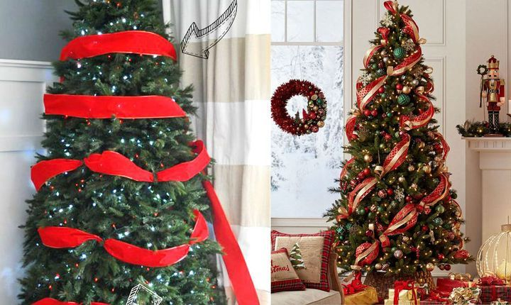 Декорирование Новогодней елки