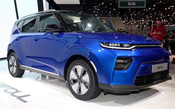В Женеве представлен новый электрический Kia Soul 2020