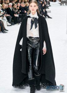 Кейп от модного дома Шанель осень-зима 2019-2020