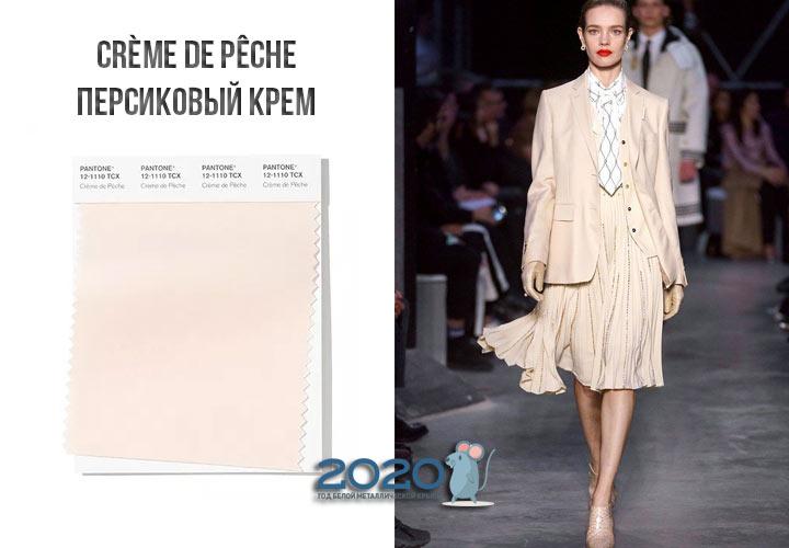 Creme de Peche (№12-1110) осень-зима 2019-2020