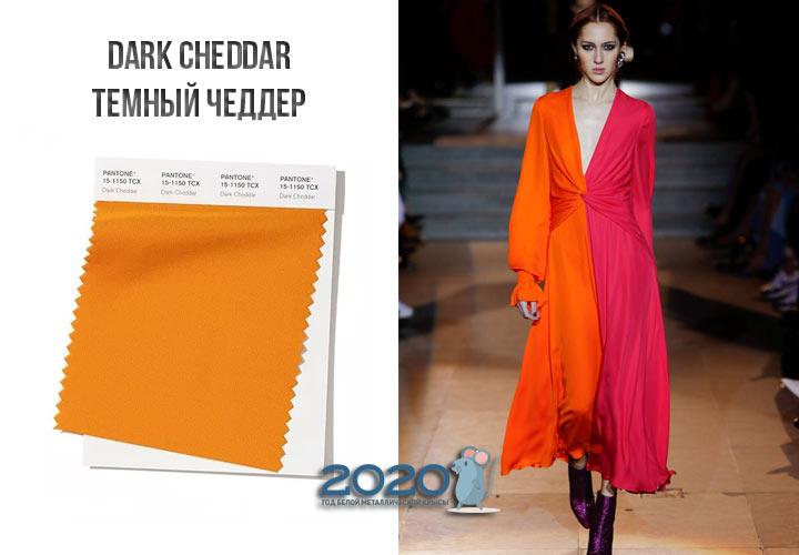 Dark Cheddar (№15-1150) осень-зима 2019-2020