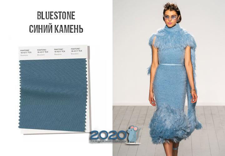 Bluestone (№18-4217) цвет Пантон зима 2019-2020