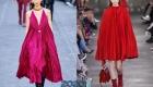 Модные платья гофре зима 2019-2020