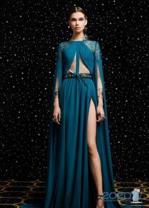 Новогоднее платье в восточном стиле