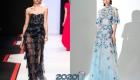 Модные полупрозрачные платья 2020 года