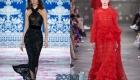 Прозрачность - тренд новогодней моды 2020
