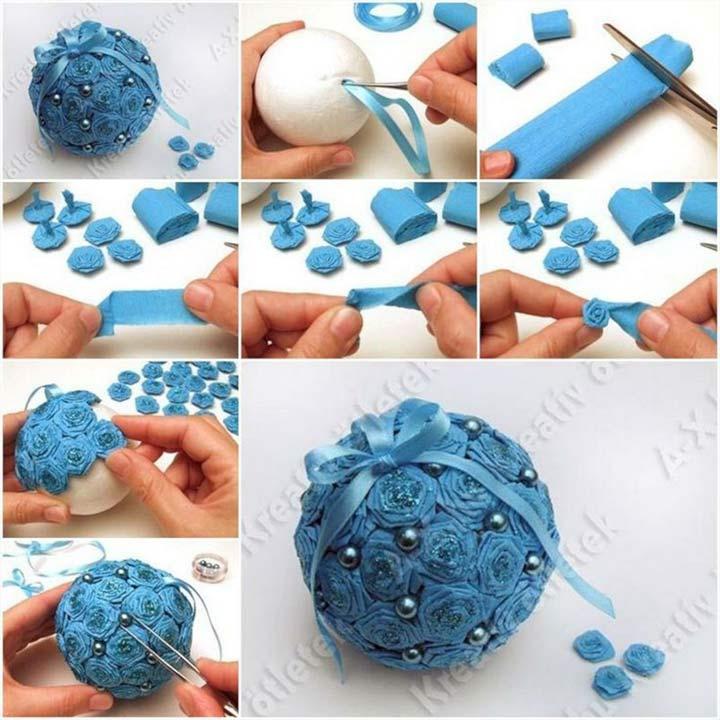 Инструкция по изготовлению шаров из гофрированной бумаги
