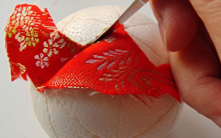 Инструкция по изготовлению шаров в технике кимекоми своими руками