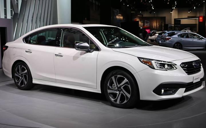 Экстерьер Subaru Legacy 7 поколения 2020 года
