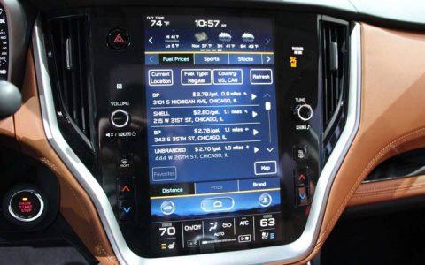 Монитор Subaru Legacy 2020
