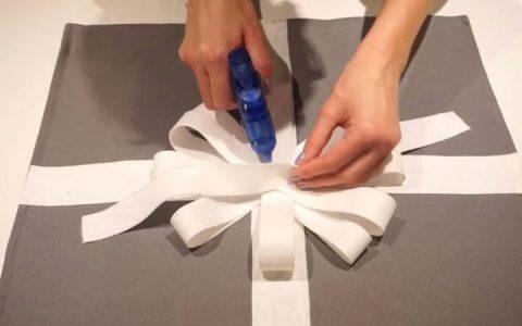 Подушка с бантом своими руками инструкция шаг 7