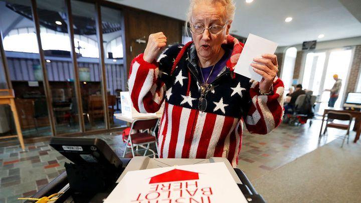 Голосование в Америке