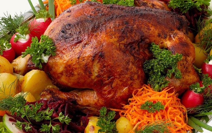 Фаршированная курица - рецепты на Новый Год 2020