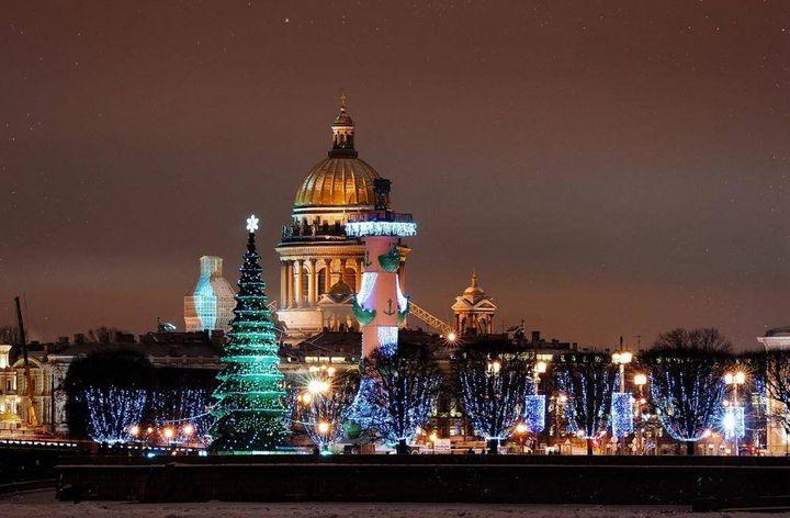 Новый год на Дворцовой площади