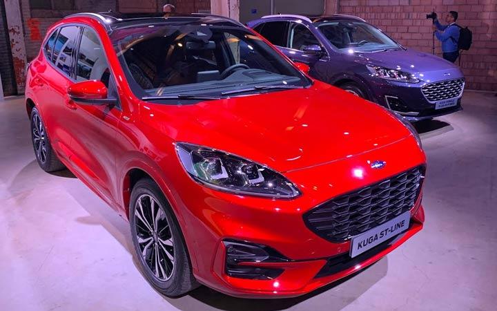 Представлен Ford Kuga 2020 года
