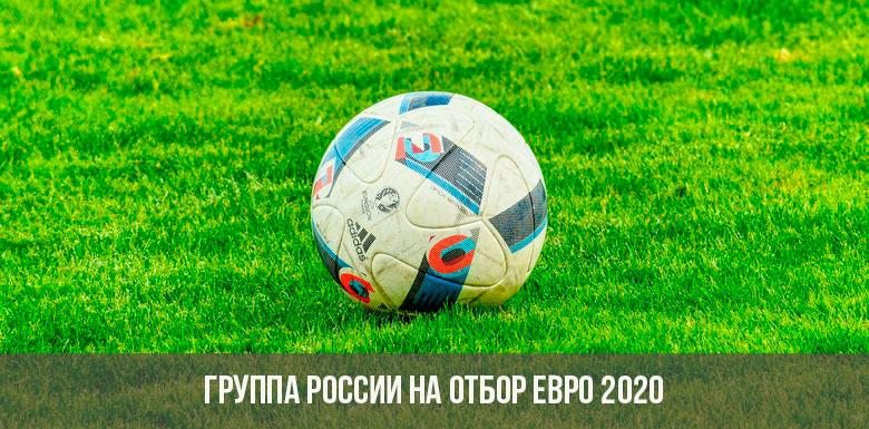 Группа России на евро 2020 по футболу