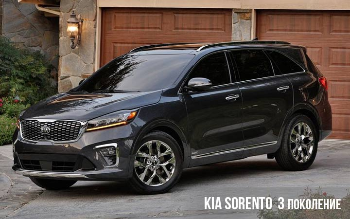Kia Sorento 3 поколение